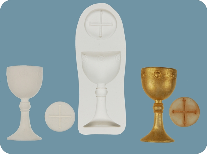 Cake Decorating Moulds Nz : Chalice and Host (1st Communion) mould KiwiCakes Wholesale Division